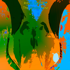 Rigel Orionis - The Drone Tone CD Cover